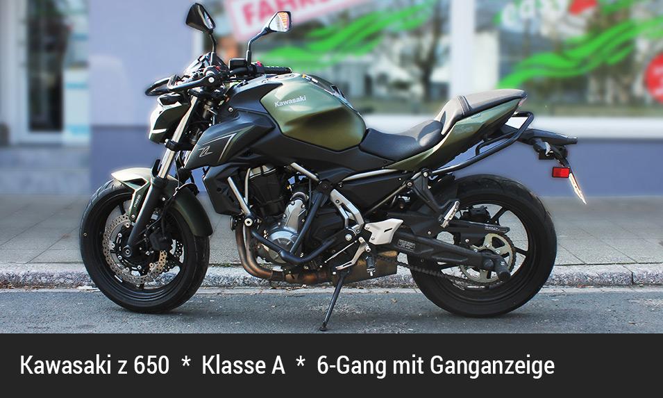 Kawasaki z650 Klasse A
